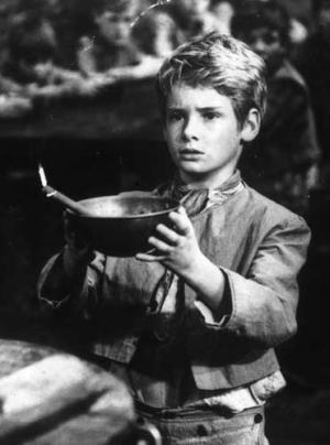 Image result for oliver twist ask for more